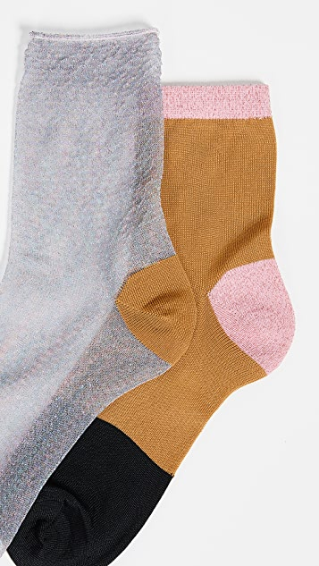 Hysteria Hanna Socks Set of 2