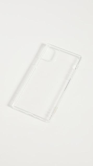 iDecoz 2 件装透明色 iPhone 配饰