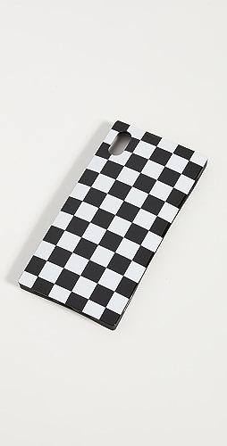 iDecoz - 2 件装格纹造型 iPhone 配饰