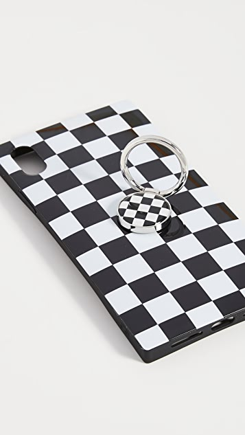 iDecoz 2 Piece Checkered Ensemble iPhone Accessories