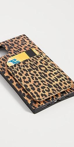 iDecoz - 3 件装豹纹造型 iPhone 配饰