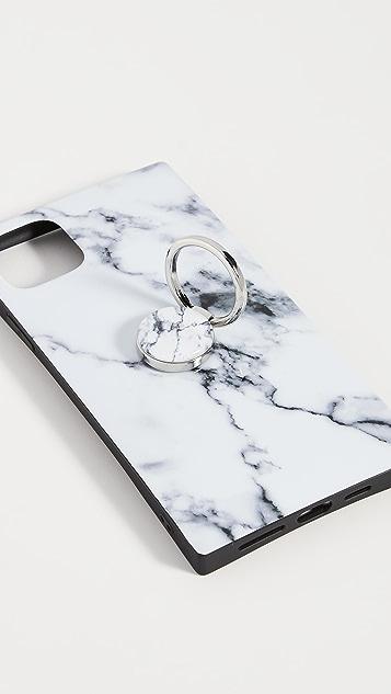 iDecoz 3 Piece White Marble iPhone Accessories