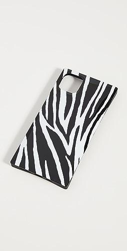 iDecoz - 3 件装斑马荧光粉色造型 iPhone 配饰