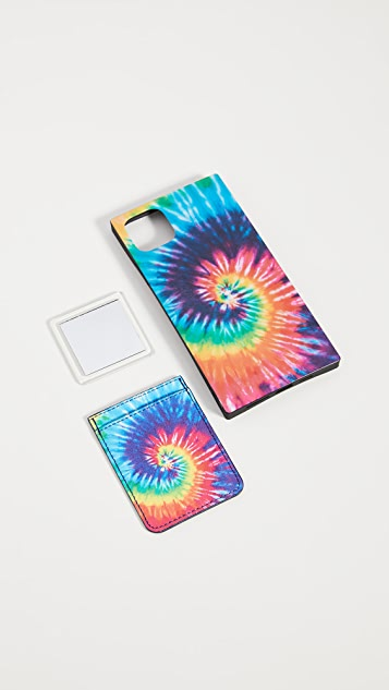 iDecoz 3 Piece Tie-Dye Ensemble iPhone Accessories