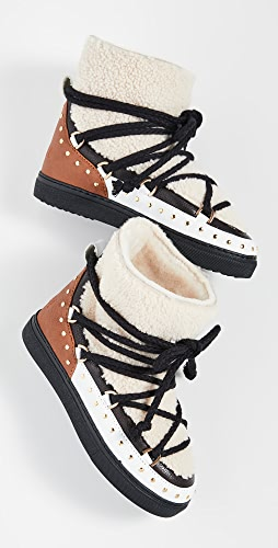 Inuikii - Curly Rock Shearling Sneaker Boots
