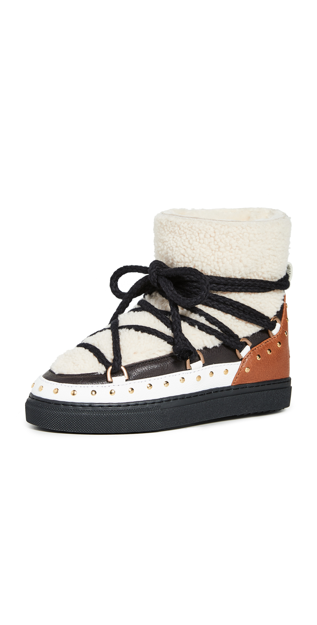 Curly Rock Shearling Sneaker Boots