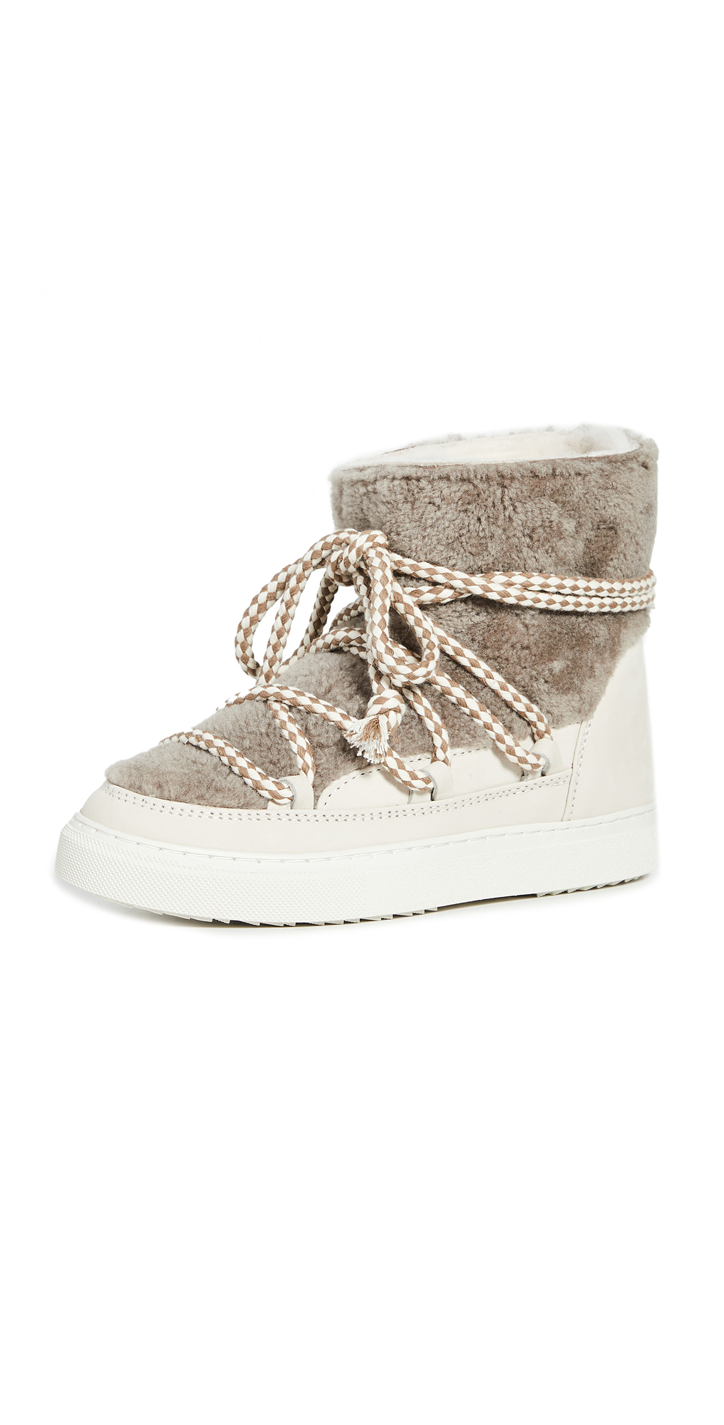 Curly Shearling Sneakers