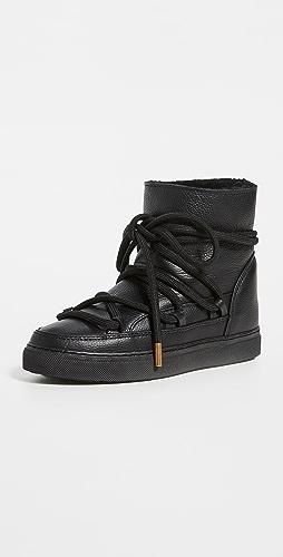 Inuikii - Full Leather Shearling Sneakers