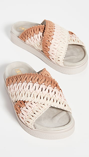 Inuikii Knitted Crossed Slides