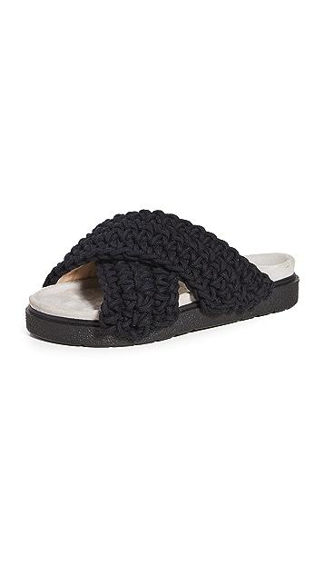 Inuikii 梭织厚底凉鞋