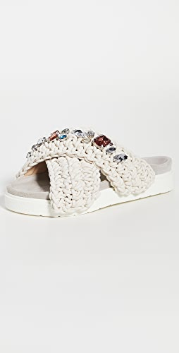 Inuikii - 梭织凉拖鞋