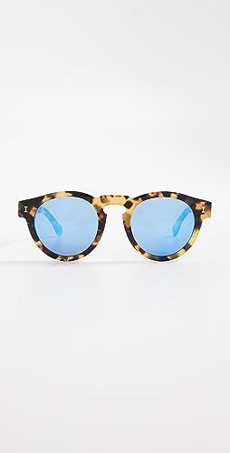 Illesteva - Leonard Mirrored Sunglasses