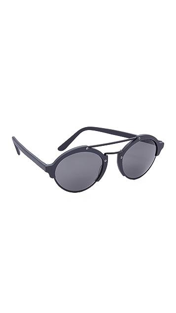 Illesteva Milan II Matte Sunglasses