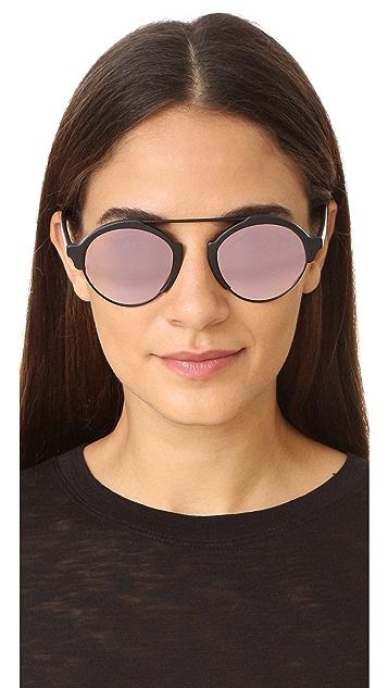 Illesteva Milan III Mirrored Sunglasses
