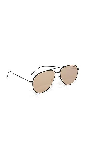 Illesteva Linate Flat Lens Sunglasses