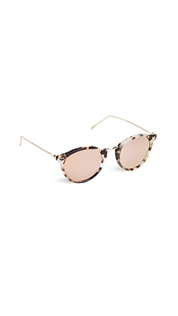 Illesteva Portofino Mirrored Sunglasses