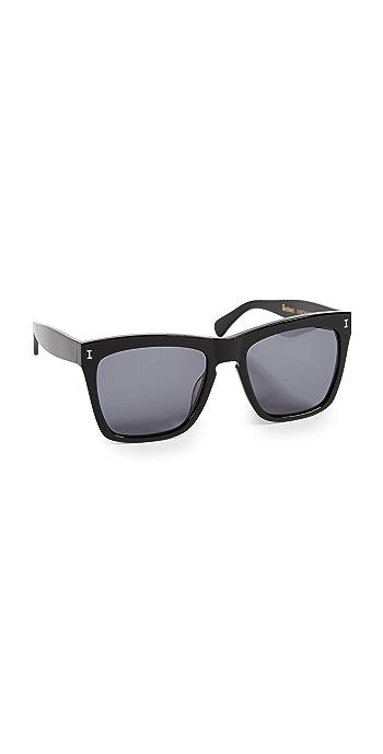 Illesteva Los Feliz Sunglasses - Black/Grey