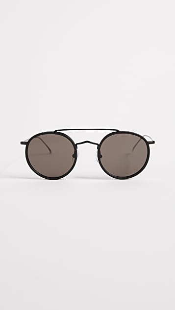 Illesteva Allen Sunglasses - Matte Black/Grey