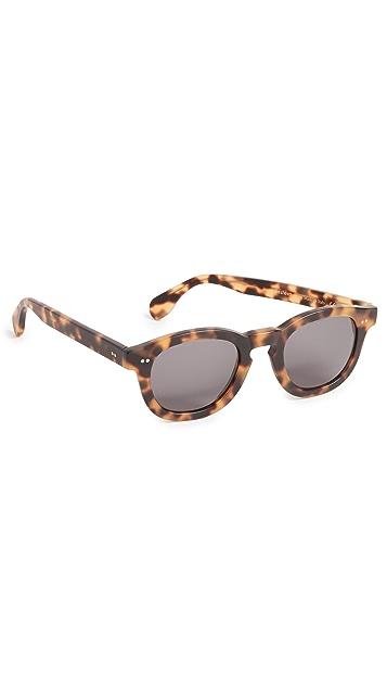 Illesteva Murdoch Matte Tortoise Sunglasses