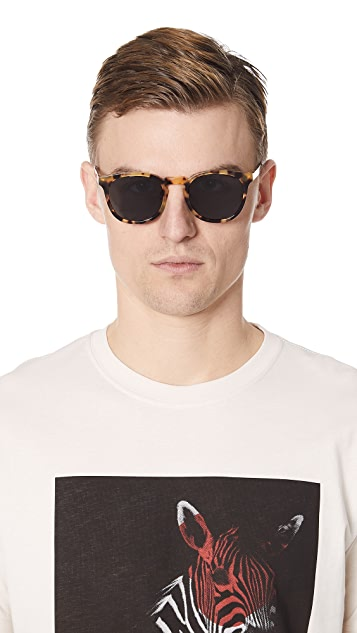Illesteva Eldridge Tortoise Sunglasses