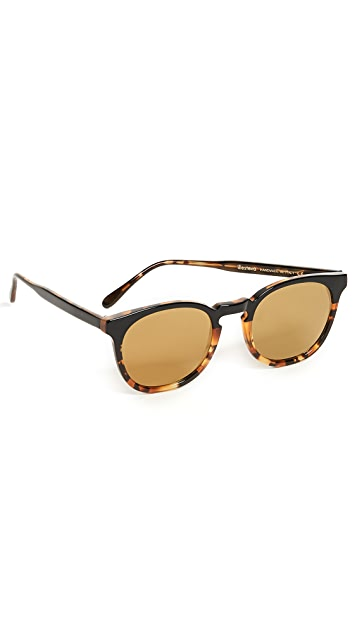 Illesteva Eldridge Half & Half Sunglasses
