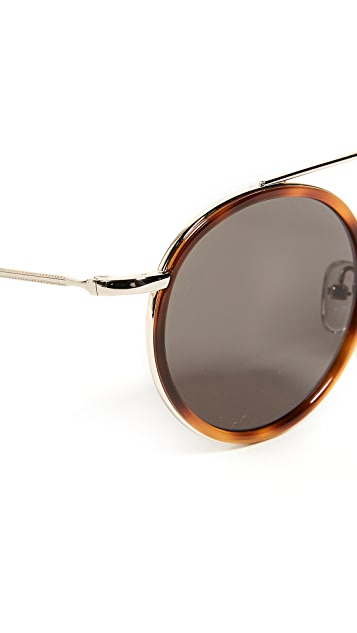 Illesteva Kingston Havana Sunglasses