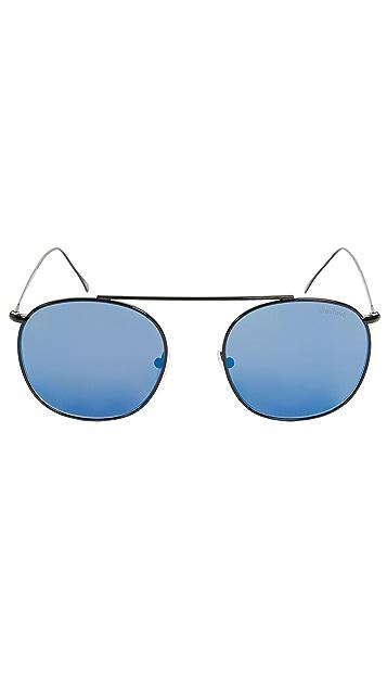 Illesteva Mykonos II Black Sunglasses