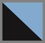 Black with Blue Flat Mirror