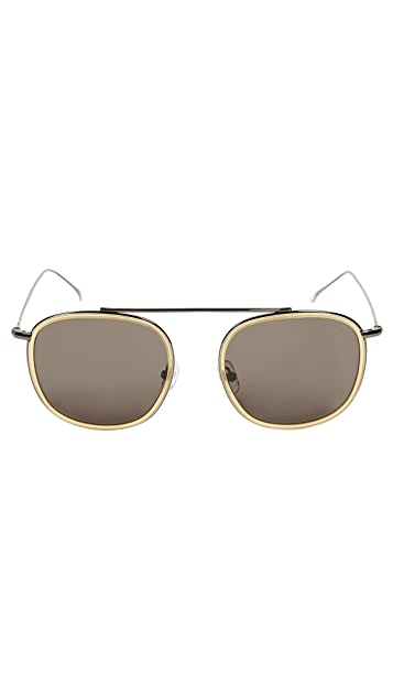 Illesteva Mykonos Ace Blond Sunglasses