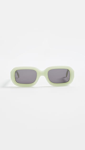 Illesteva Vinyl Mint Sunglasses