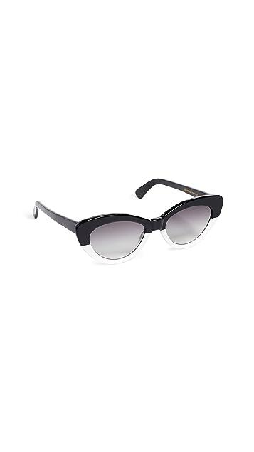 Illesteva Pamela Half & Half Sunglasses