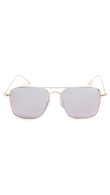 Illesteva Milos Mirror Sunglasses