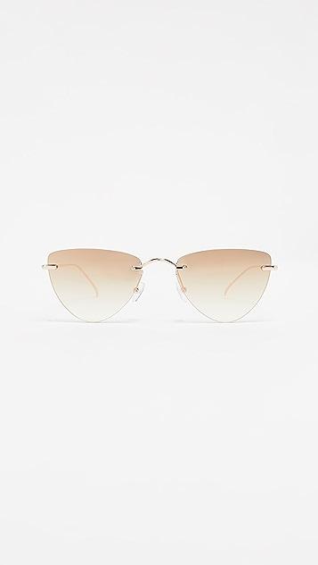 Illesteva Auckland Cat Eye Sunglasses