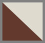 白色玳瑁棕色