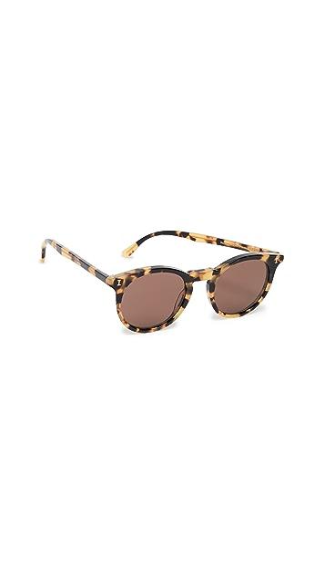 Illesteva Солнцезащитные очки из серебра 925 пробы