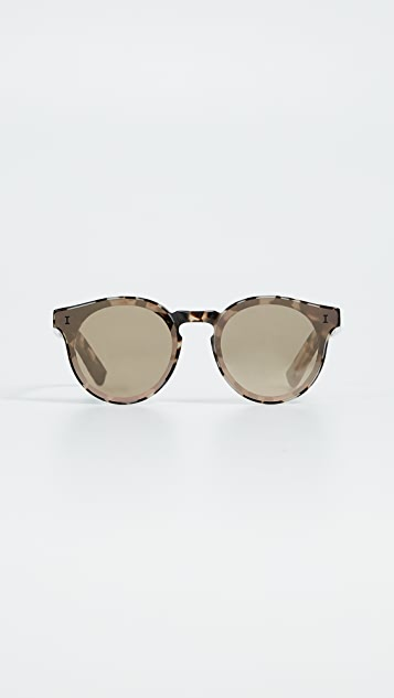 Illesteva Two Point Sunglasses