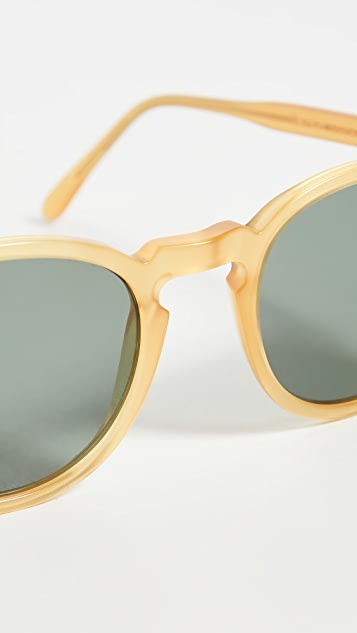 Illesteva Eldridge Honey Gold Sunglasses