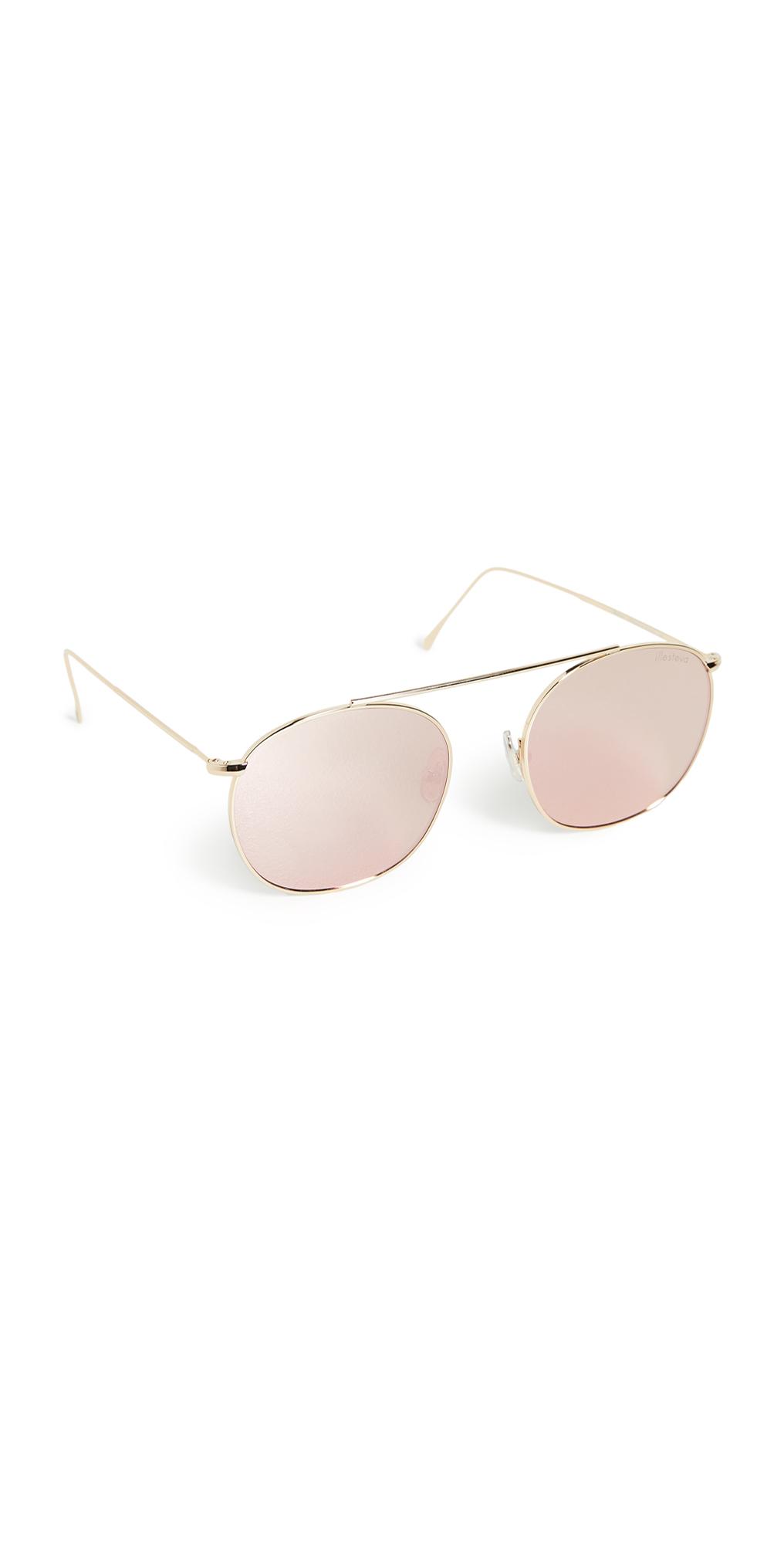 Mykonos II Gold Sunglasses