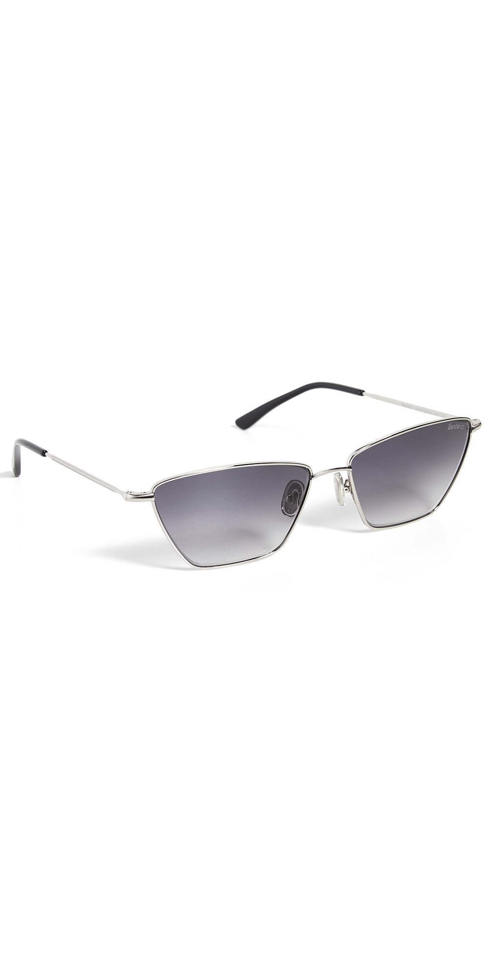 Lima Silver w/ Grey Gradient Lenses