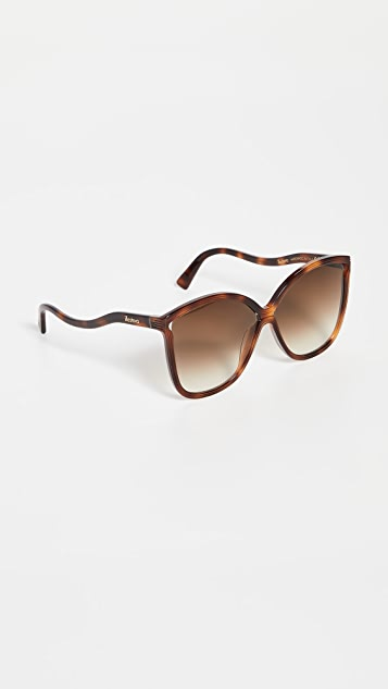 Illesteva Nancy Havana Sunglasses