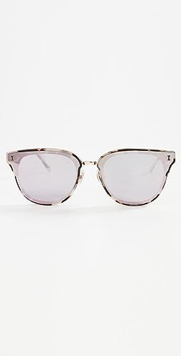 Illesteva - Aoyama White Tortoise Sunglasses