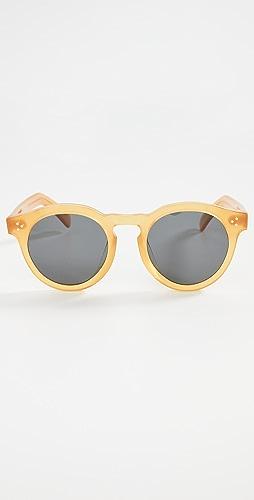 Illesteva - Leonard II E Honey Gold Sunglasses