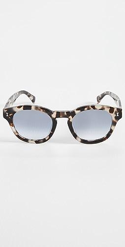 Illesteva - Madison White Tortoise Sunglasses