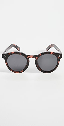 Illesteva - Leonard II E Pink Tortoise Sunglasses