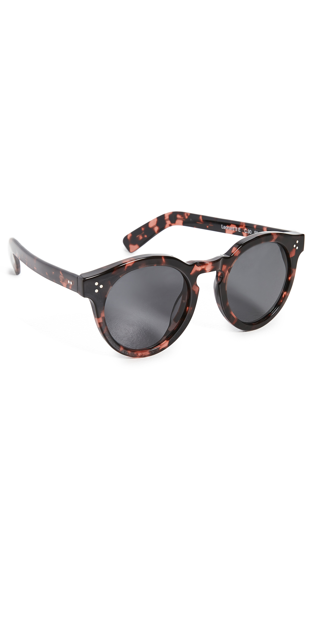 Leonard II E Pink Tortoise Sunglasses