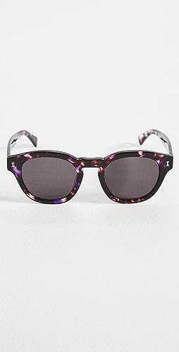 Illesteva - Madison Berry Tortoise Sunglasses