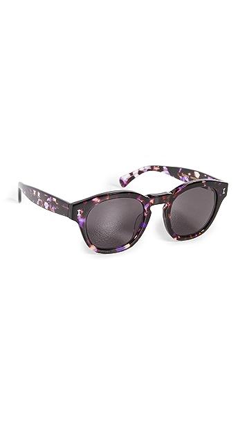 Illesteva Madison Berry Tortoise Sunglasses