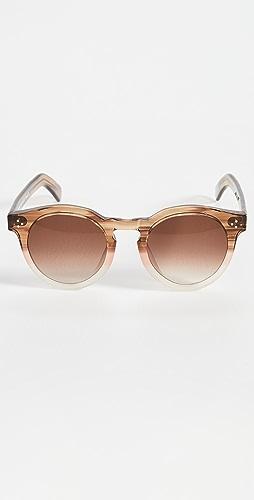 Illesteva - Leonard II E Blush Oak Sunglasses