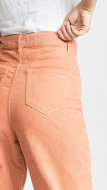 Isabel Marant Etoile Вельветовые брюки Corsy