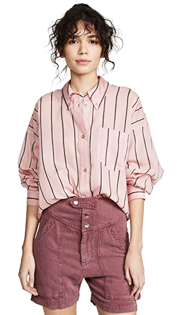 Isabel Marant Etoile Ycao Button Down Shirt
